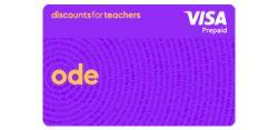 Discounts for Teachers Ode Card
