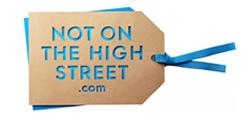 Not On The High Street Vouchers - Not On The High Street Voucher - 8% discount