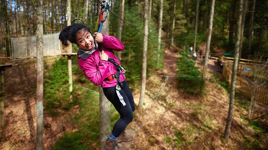 Go Ape Adventure. 10% Teachers discount