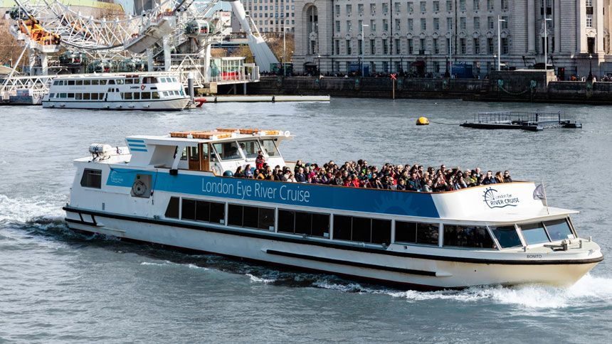 London Eye River Cruise. Huge savings for Teachers
