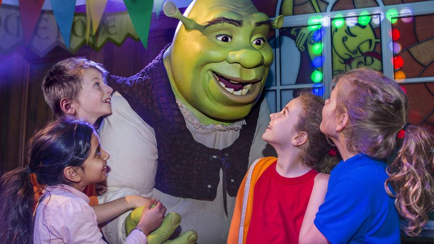 Shreks Adventure London. Huge savings for Teachers