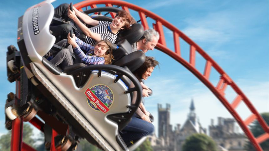Alton Towers Resort. Huge savings for Teachers