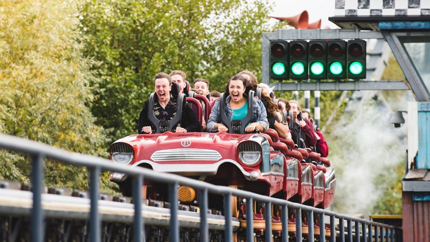 THORPE PARK Resort. Huge savings for Teachers