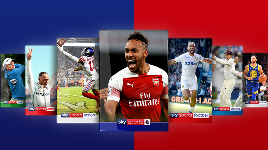 Sky Sports Pass. From just £5.99