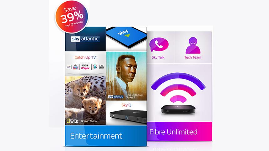 Sky Broadband & TV. Flash Sale Save 39%