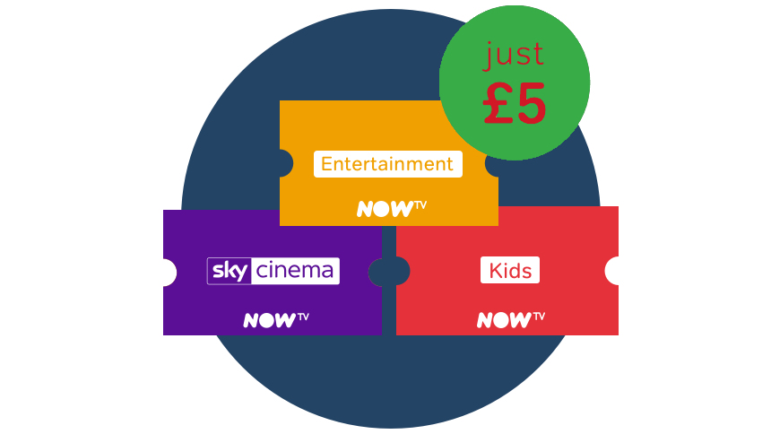 FREE 30 Day Sky Entertainment & Cinema Pass. Plus 5 months Sky Kids for just £5