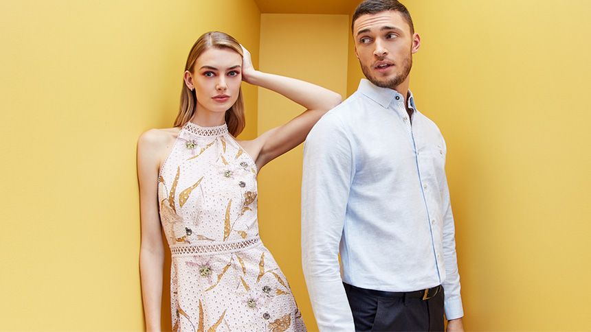 Ted Baker. Up to 40% off selected styles