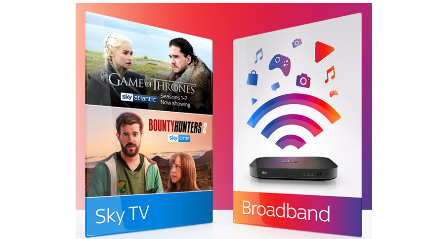 Sky Broadband Essential & TV. £35 a month