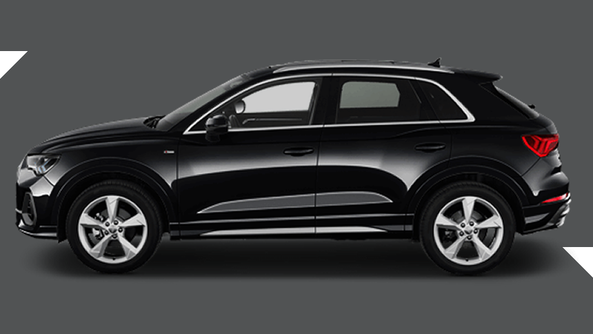 Audi Q3 Estate. £299 per month inc VAT + 1,000 free excess miles¹