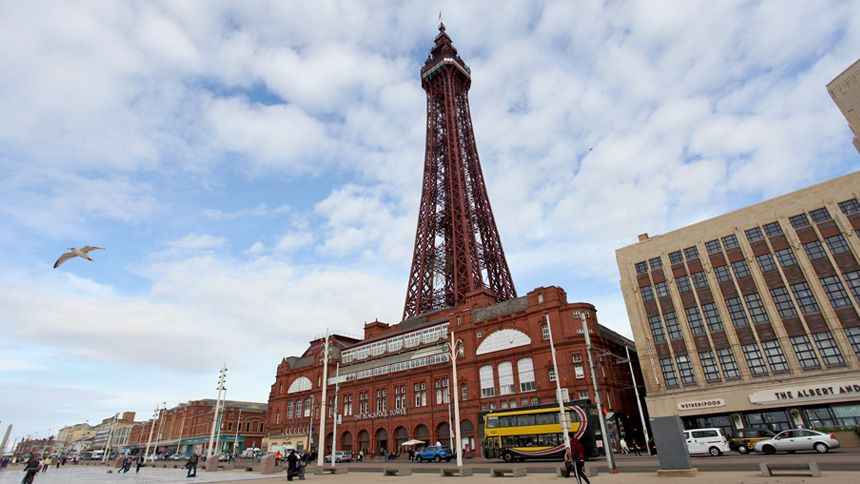 The Blackpool Tower. Huge savings for Teachers