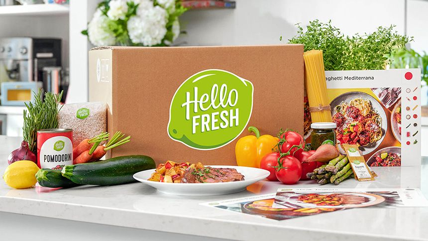 HelloFresh. £15 off your first 3 HelloFresh boxes