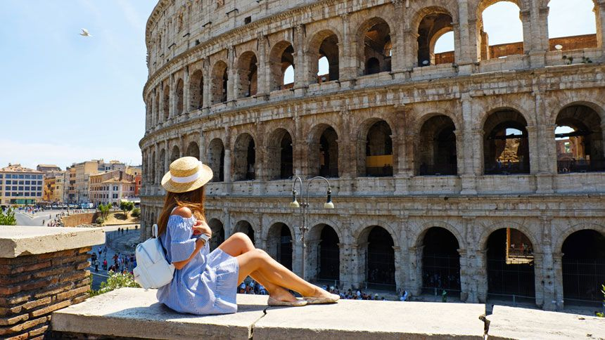 Rome Sightseeing Bus Tours - 10% Teachers discount