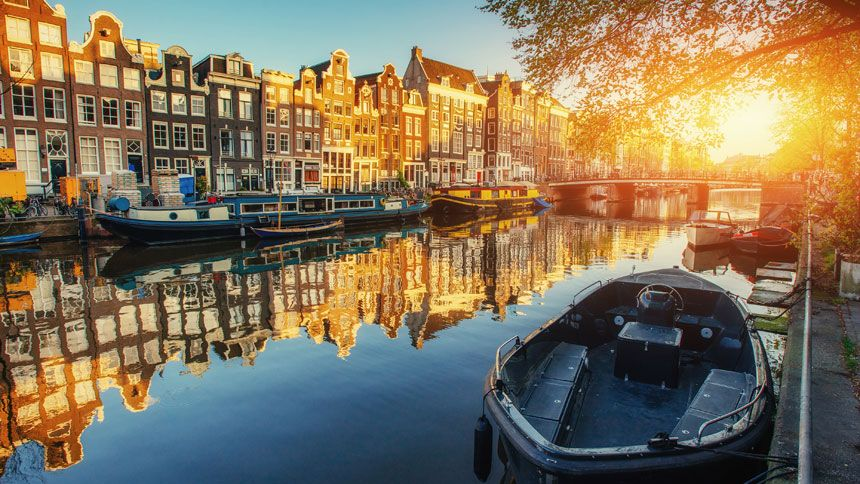 Amsterdam Cruises. From £399pp for 7 nights