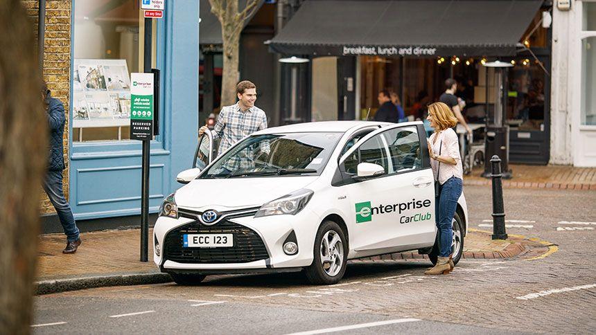 Enterprise Rent-A-Car. Free 12 month membership to Enterprise Car Club for Teachers