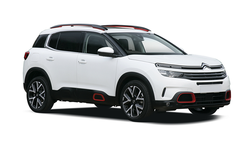 Citroen C5 Aircross Hatchback. £205 per month + 1,000 free excess miles¹ + FREE £75 fuel card*