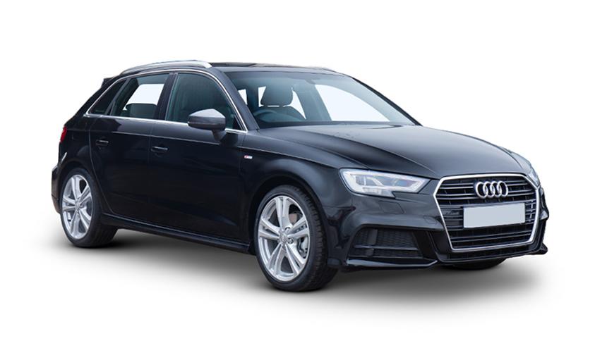 Audi A3 Sportback - £215 per month inc VAT + 1,000 free excess miles¹