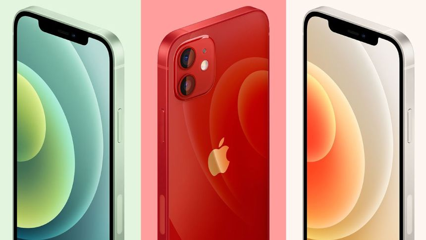 SIM FREE iPhone 12 - £18.99 a month + exclusive £20 Amazon Gift Card