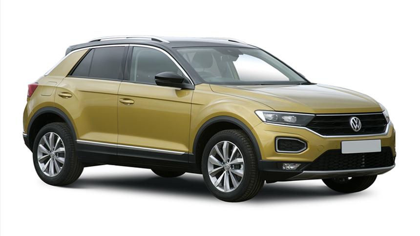 Volkswagen T-Cross Hatchback - £215 a month + 1,000 free excess miles