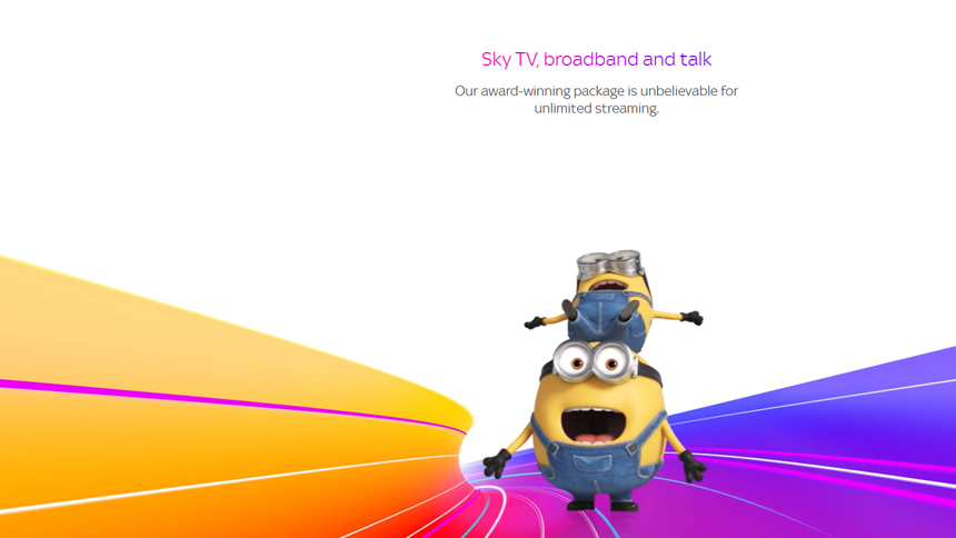 Superfast Broadband - £25 a month + free anytime talk