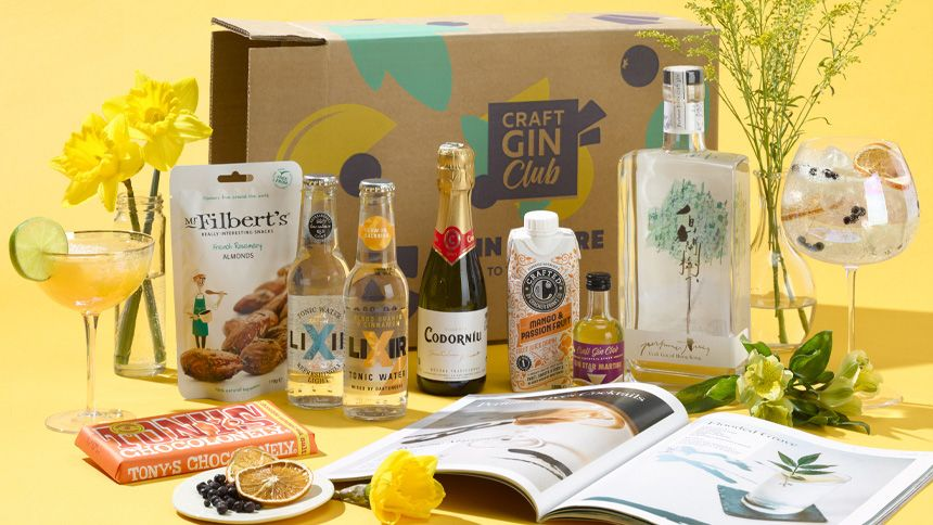 Craft Gin Club - 40% off your first suprise gin box