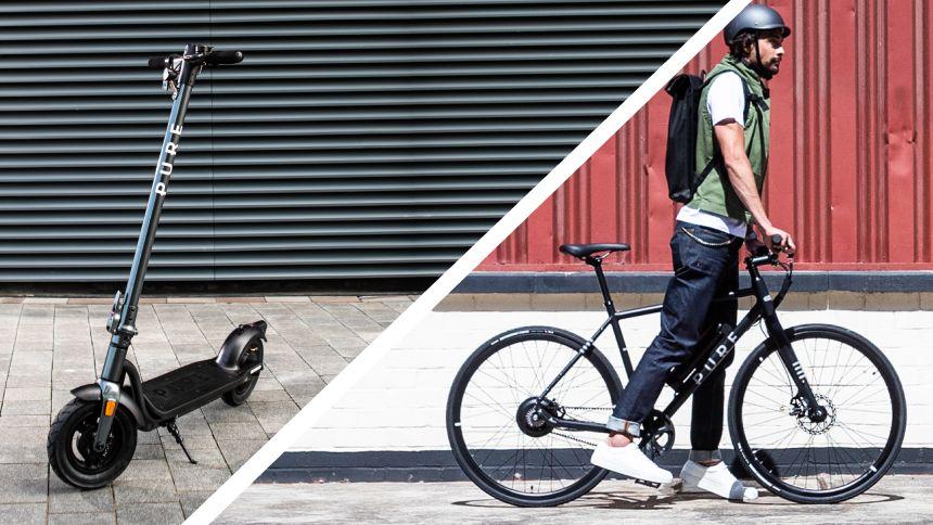 Pure Electric e-scooters & e-bikes - 5% Teachers discount