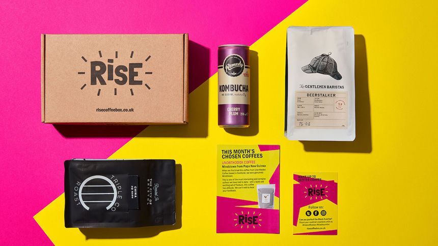 RISE Coffee Box - 20% off your first order