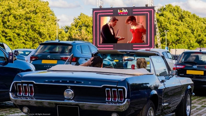 The Luna Cinema - 20% off tickets at drive in cinema at Harewood House