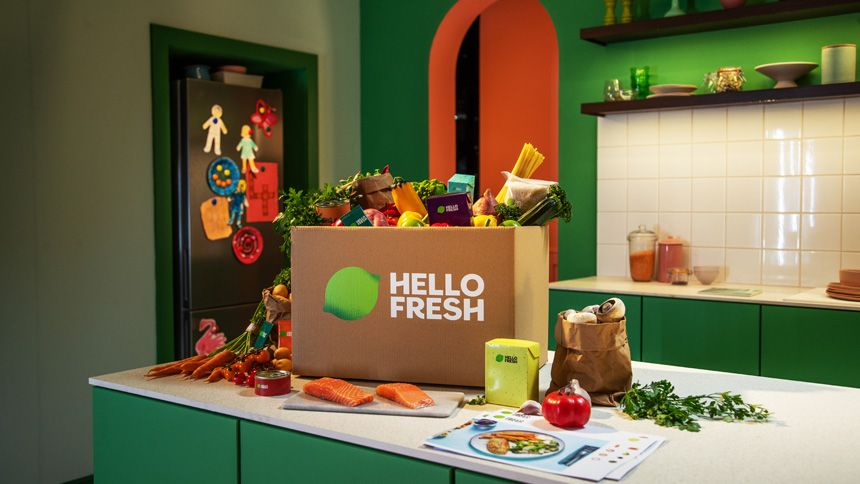 HelloFresh - 50% off 1st box + 35% off next 3 boxes