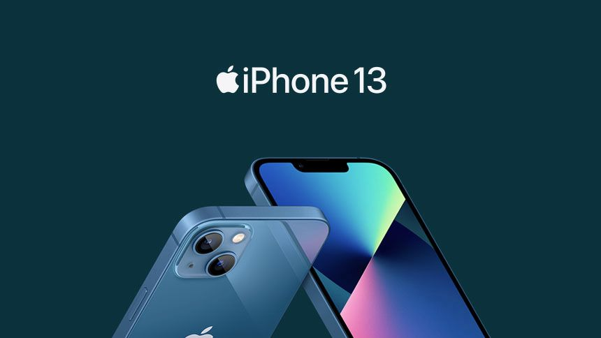 New iPhone 13 - £0 upfront + £45 a month