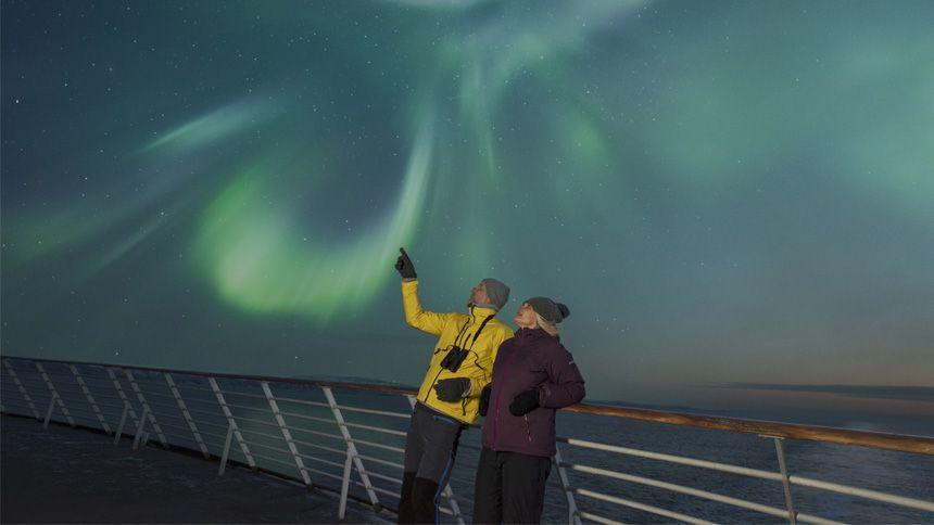Hurtigruten Cruises - Save 25% on Northern Light Voyages with Hurtigruten Coastal Express