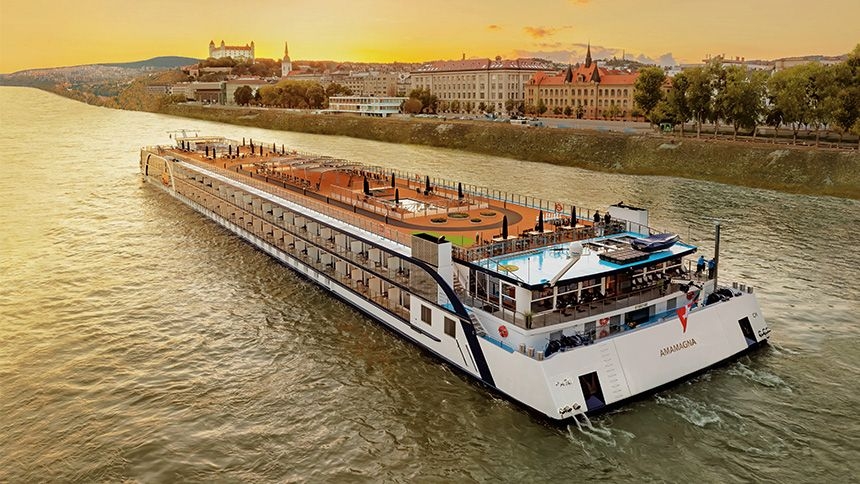 AmaWaterways River Cruises - Free sailing for Teachers heroes