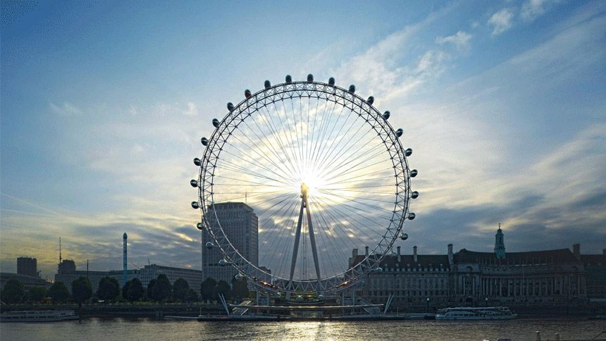 London Eye. Huge savings for Teachers