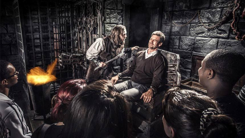 The London Dungeon. Huge savings for Teachers