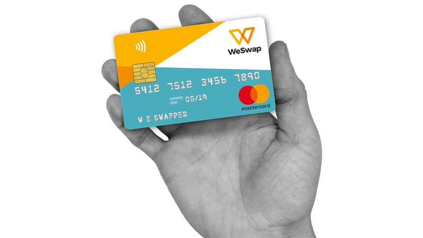 WeSwap Travel Card. £15 free travel money for Teachers