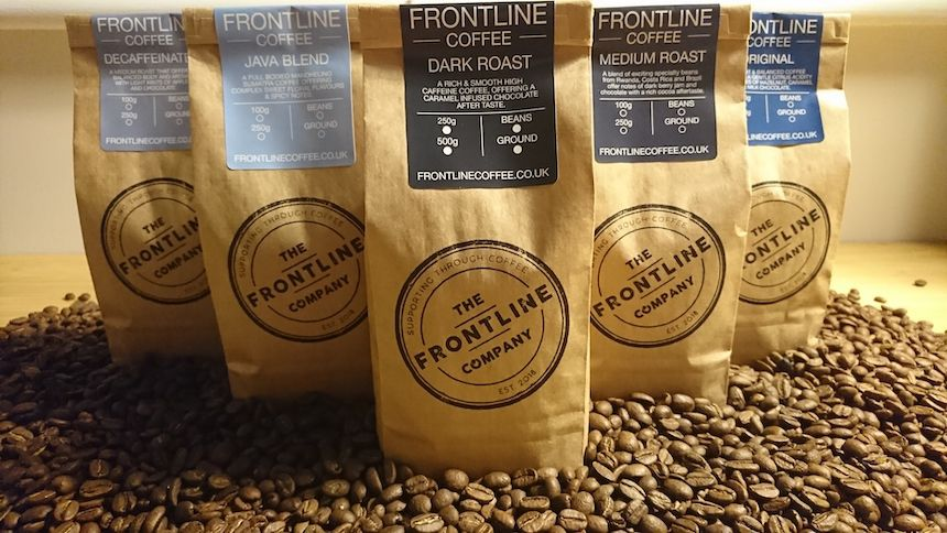 Frontline Coffee. 20% Teachers discount