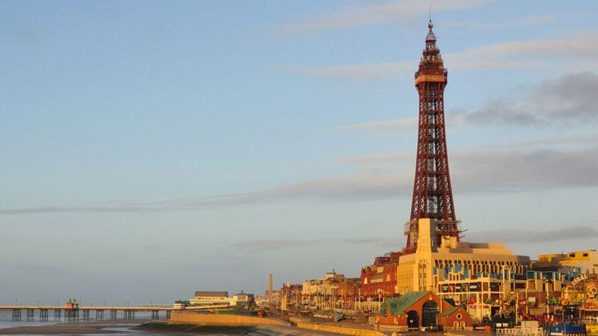 The Blackpool Tower. Huge savings for Teachers