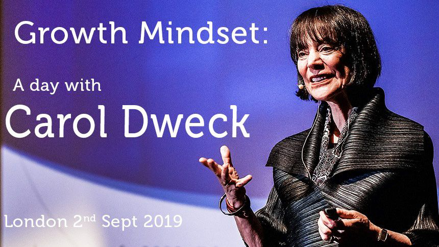 Carol Dweck Growth Mindset. 30% Teachers discount